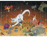 Ex-libris Offset, Nef des Fous (La) : Chat (Puzzle)