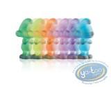 Déco, Schtroumpfs (Les) : Schtroumpf lumineux multicolor 10 cm