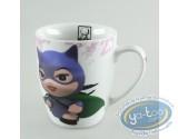 Art de la Table, Marvel Super Héros : Série de 5 mugs décorés à l'effigie de vos supers héros