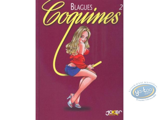 Used European Comic Books, Blagues Coquines : Blagues Coquines