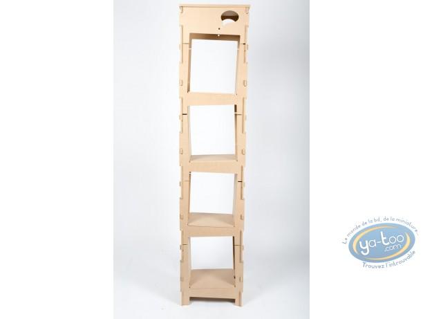 Furniture, Basic Bookcase 1 column ' Skive ' - kit 2