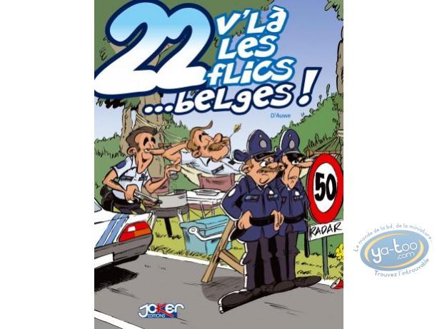 European Comic Books, 22 V'la les Flics : Les foot furieux
