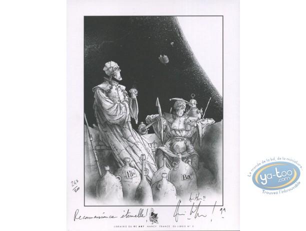 Bookplate Offset, Monsieur Mardi-Gras Descendres : Drink
