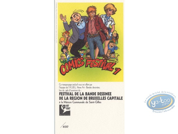 Bookplate Offset, Tribute to Comics 1 (small)