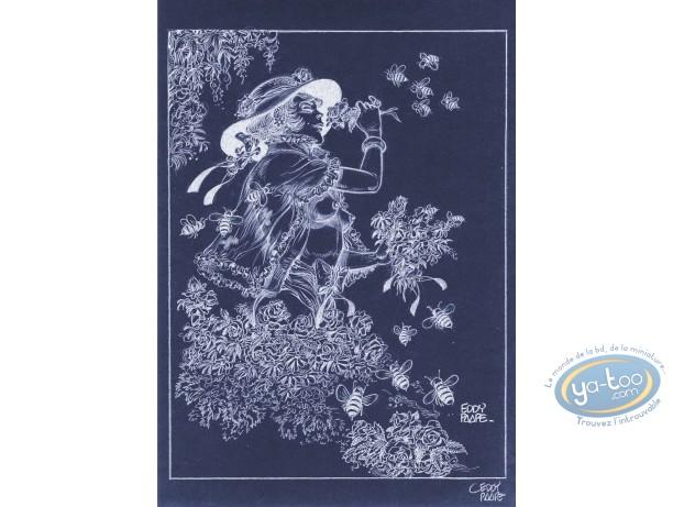 Offset Print, Luc Orient : Laura Bees (negative)