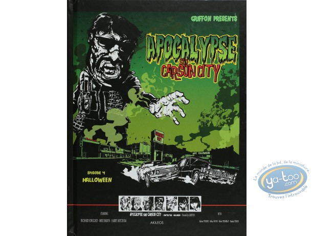Reduced price European comic books, Apocalypse sur Carson City : Halloween