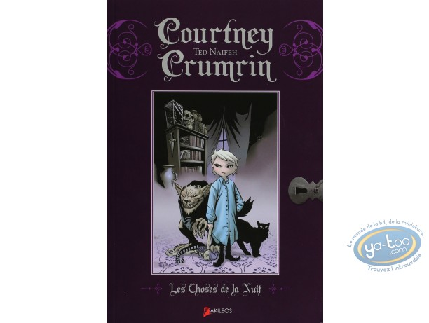 Reduced price European comic books, Courtney Crumrin : Les Choses de la Nuit