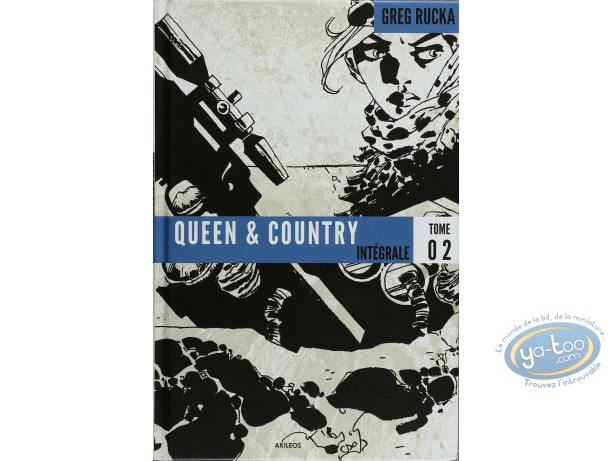 Reduced price European comic books, Queen and Country : Intégrale Queen & Country Tome 02