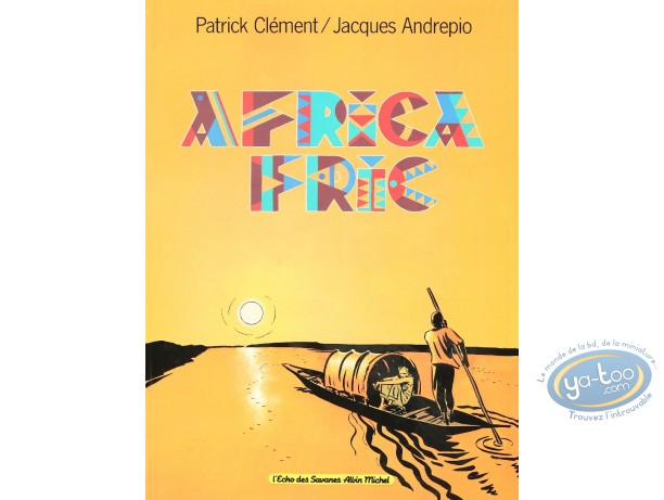Used European Comic Books, Africa Fric : Africa Fric