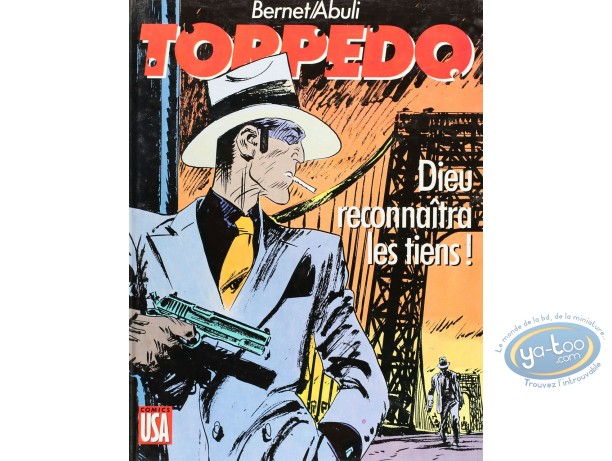 Listed European Comic Books, Torpédo : Dieu reconnaitra les tiens! (good condition)