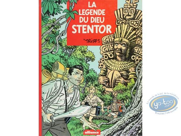 Listed European Comic Books, Légende du Dieu Sentor (La) : La Légende du Dieu Stentor