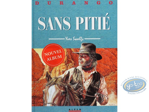 Listed European Comic Books, Durango : Sans Pitie