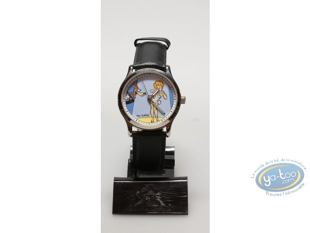 Clocks & Watches, Tex Avery : Watch, Tex Avery, The Wolf  : leather strap