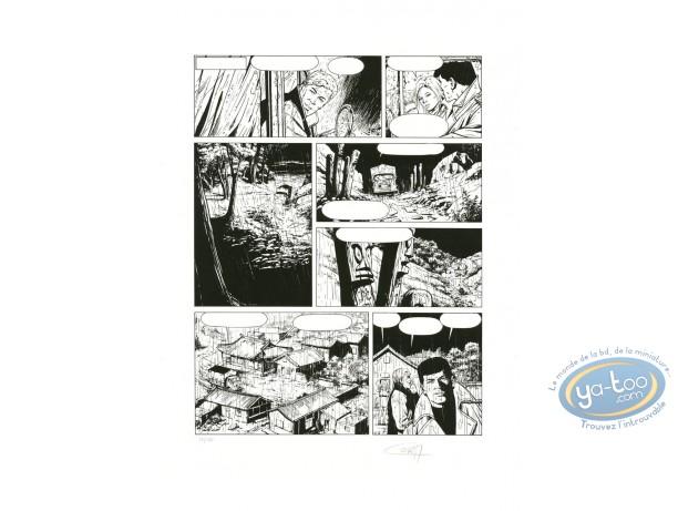 Serigraph Print, Bob Morane : Page