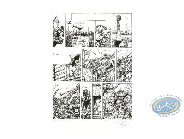 Serigraph Print, Shane : Page