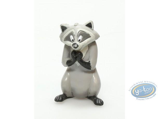 Plastic Figurine, Pocahontas : Meeko