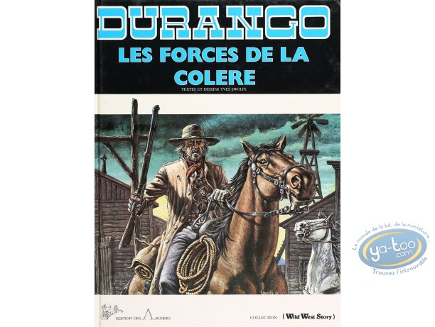 Listed European Comic Books, Durango : Les Forces de la Colere (good condition)