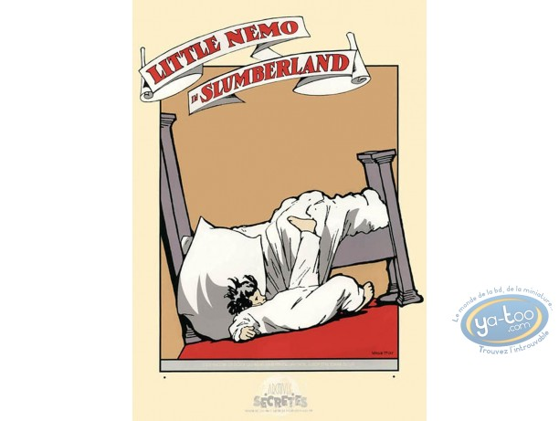 Serigraph Print, Little Nemo : Falling form the bed