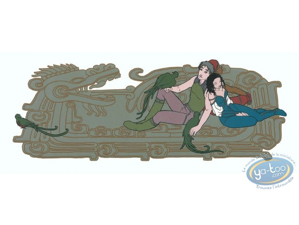 Serigraph Print, Quetzal