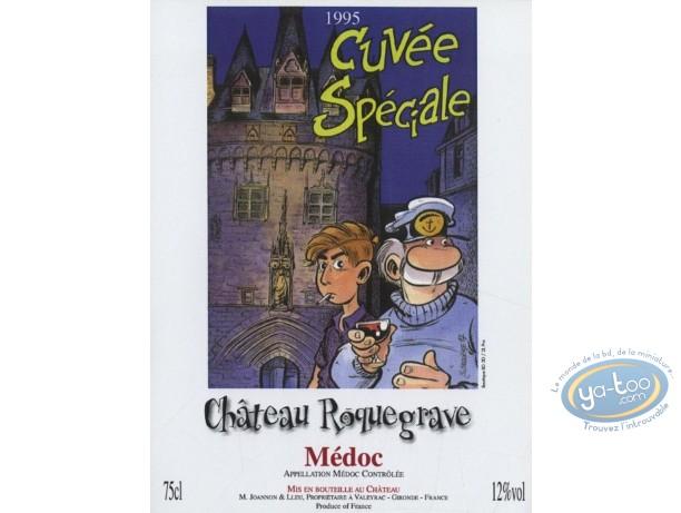 Wine Label, Léo Loden : Léo Loden - Chateau Roquegrave 1995