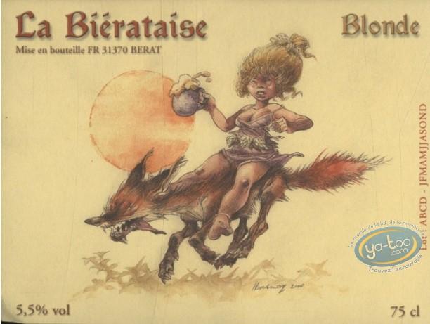 Wine Label, Laïyna : La Biérataise