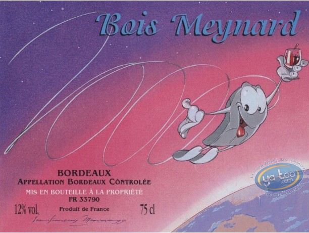 Wine Label, Santée - Bois Maynard 2000