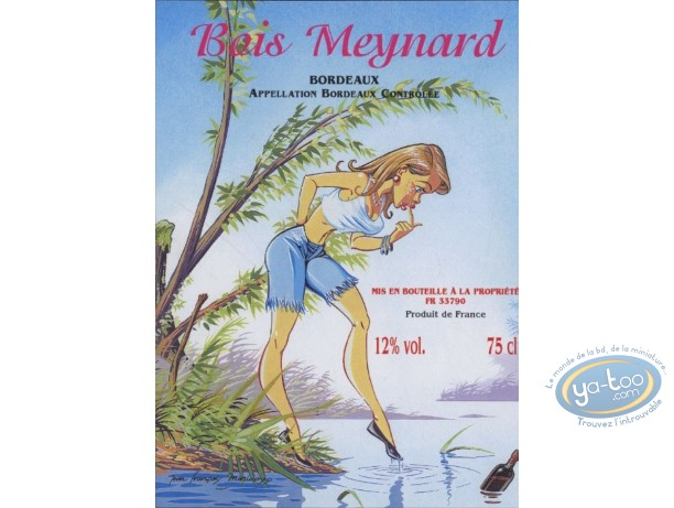 Bookplate Offset, Pin-Up : The Lake - Bois Meynard