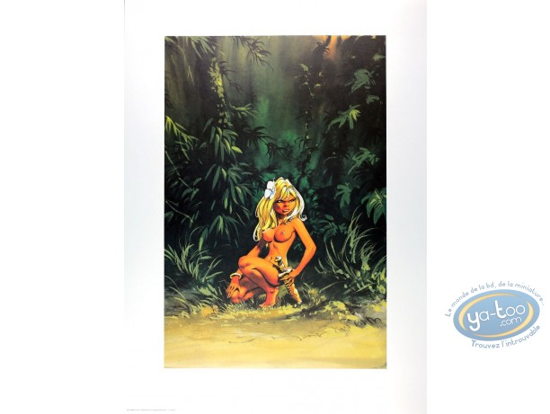 Offset Print, Olivier Rameau : Colombe in the Jungle