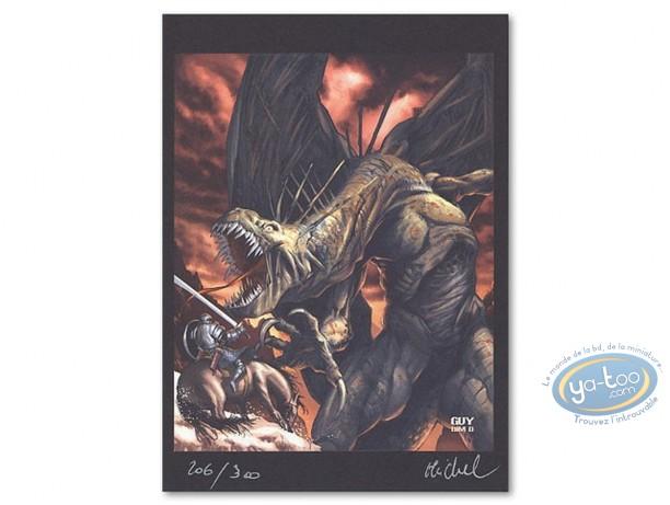 Bookplate Offset, Seigneur d'Ombre (Le) : Warrior