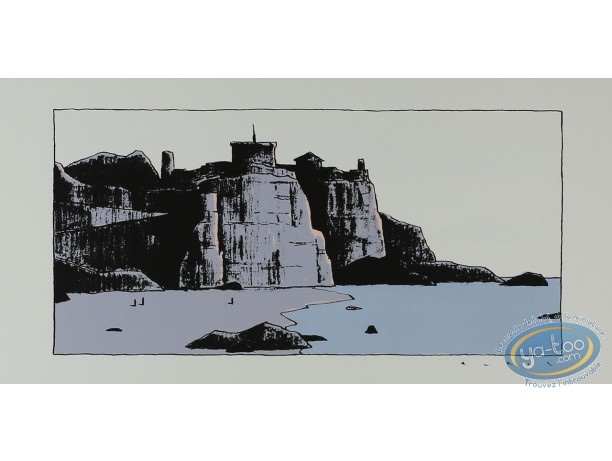 Serigraph Print, Avril : Castle