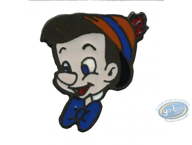 Pin's, Pinocchio : Pinocchio face