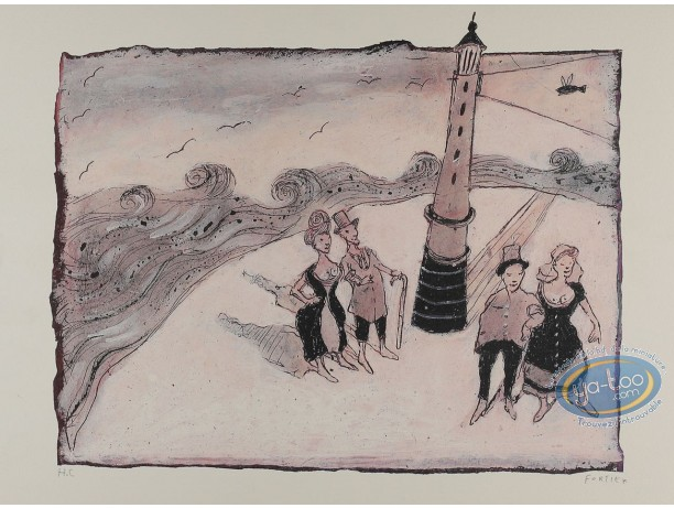 Offset Print, The Lighthouse