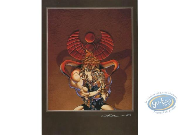 Bookplate Offset, Atalante : Atalante & Aries