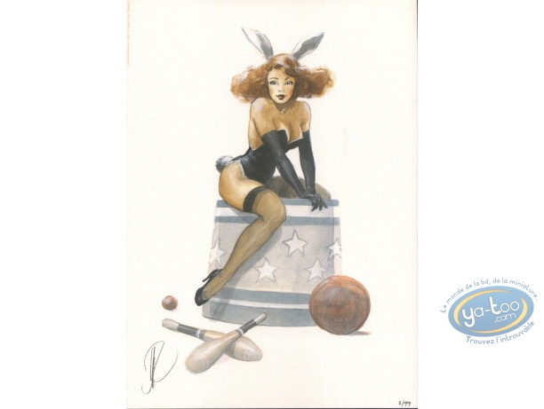Bookplate Offset, Pin-Up : Pin-up Bunny
