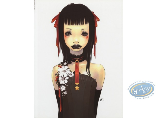Offset Print, Lostfish : Girl with necklace