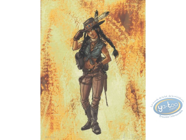Offset Print, Sillage : indian women (exclusive)