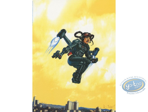 Offset Print, Sillage : flying suit