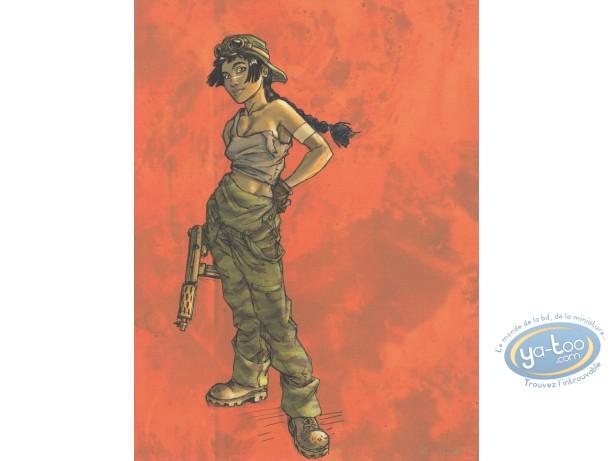Offset Print, Sillage : mercenary (exclusive)