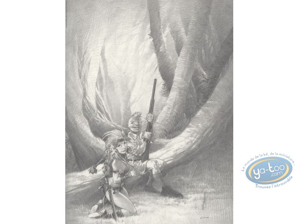 Offset Print, The Hunter