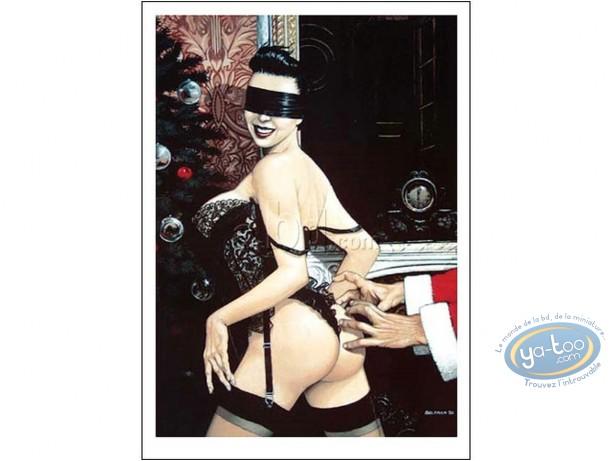 Offset Print, Christmas Underwear