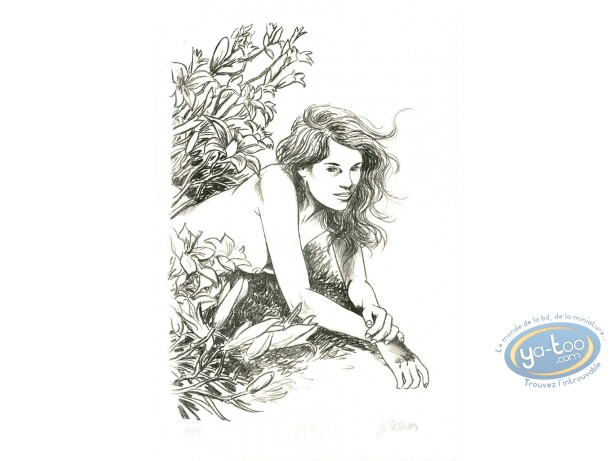 Lithography, Mémoire des Arbres (La) : Gorgeous Lady