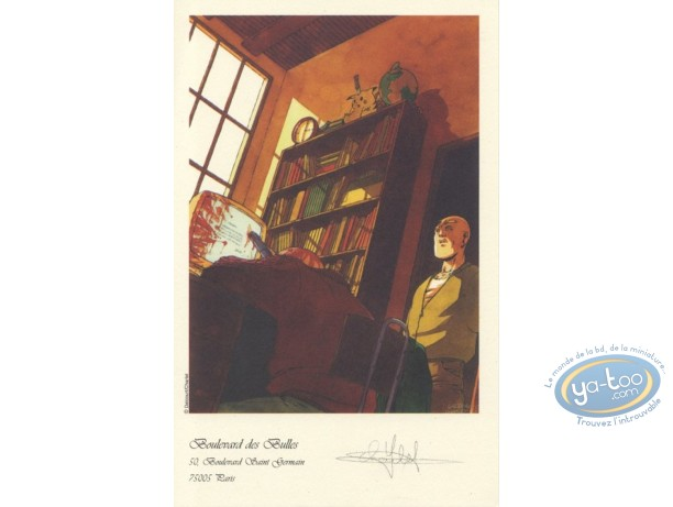 Bookplate Offset, Maître de Jeu (Le) : Suicide