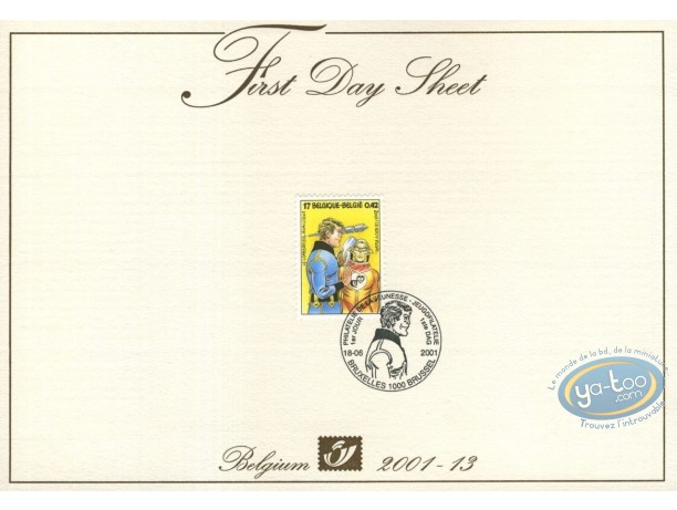 Stamp, Luc Orient : Card 1st day