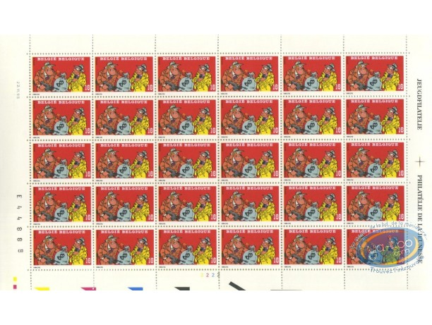 Stamp, Sammy : 30 stamps sheet