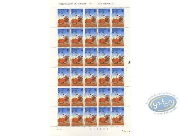 Stamp, Cubitus : 30 stamps sheet