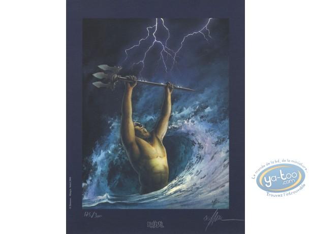 Bookplate Offset, Dernier Troyen (Le) : Poseidon