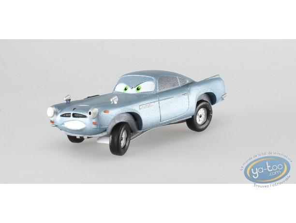 Plastic Figurine, Cars 2 : Fin Mc Missile