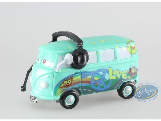 Plastic Figurine, Cars 2 : Fillmore with headset