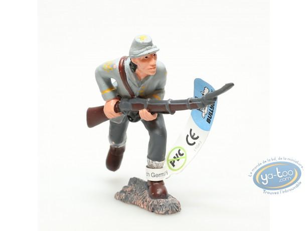 Plastic Figurine, Wild West : Plastic figure, Wild West : Confederate infantryman