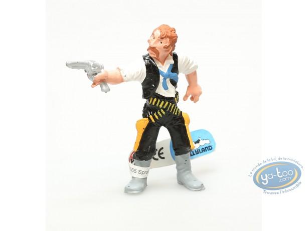 Plastic Figurine, Wild West : Plastic figure, Wild West : Cowboy with colt